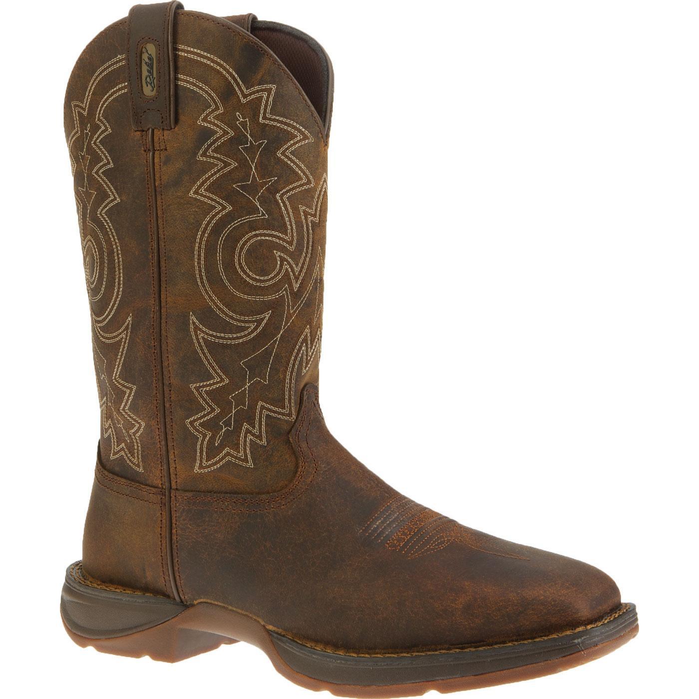 Durango - Rebel Steel Toe EH Cowboy Work Boots-Durango
