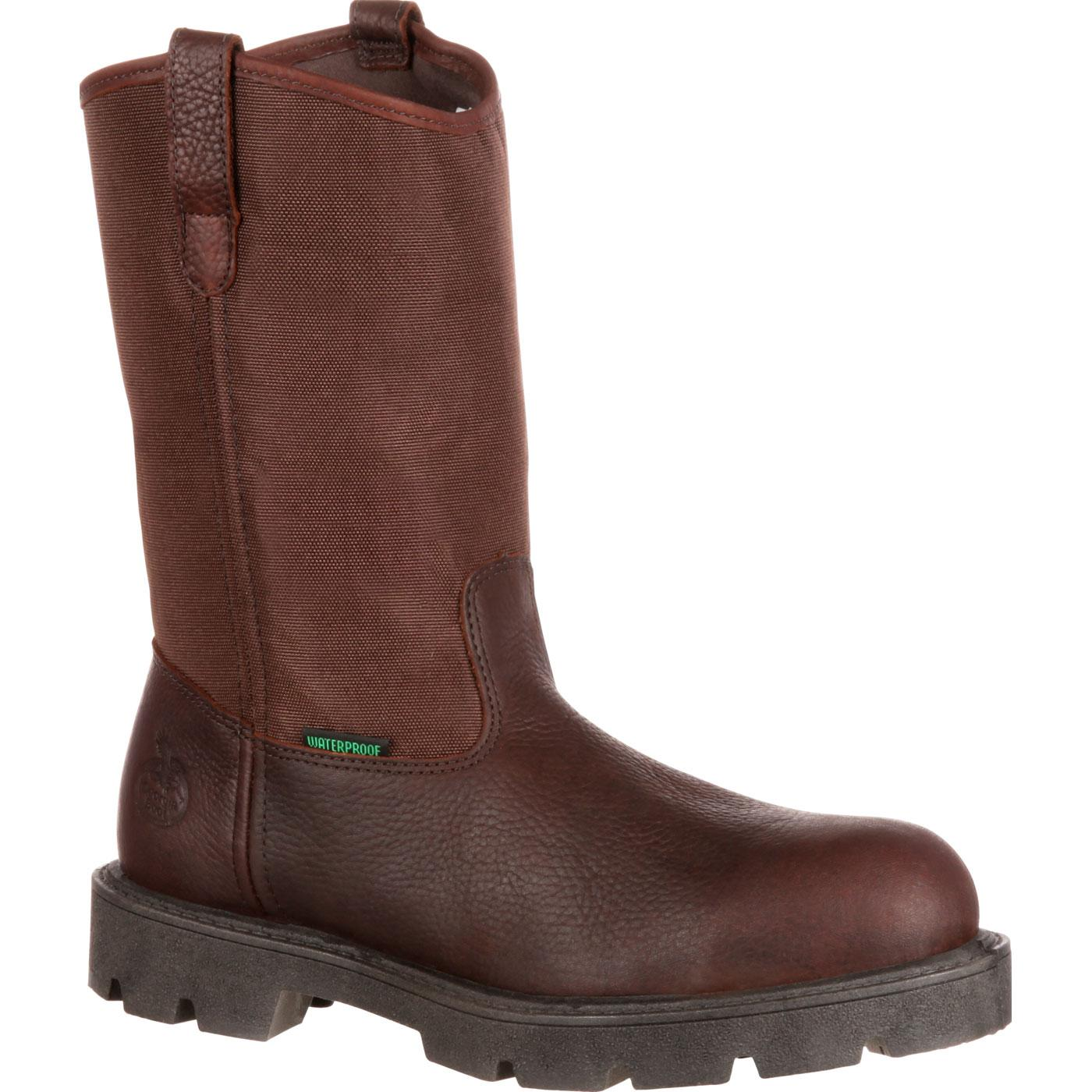 Homeland Steel Toe Waterproof Wellington-Georgia Boot
