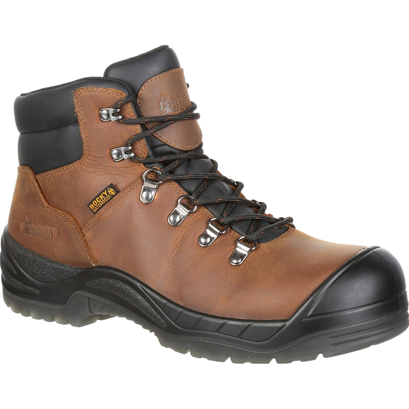Rocky - Worksmart Composite Toe Waterproof Work Boot-Rocky Boots