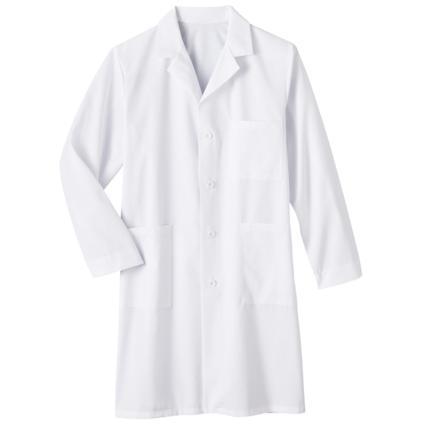 """40"""" Meta Unisex Labcoat in White-Meta"""