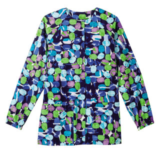 Bio Prints Ladies Raglan Sleeve Warm Up Jacket