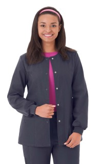 "Fundamentals Ladies 28"" Warm Up Jacket"