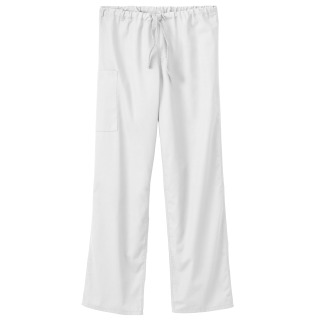 White Swan Fundamentals Unisex Full Drawstring Elastic Back Pant