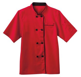Five Star Chef Apparel Women's Short Sleeve Executive Coat