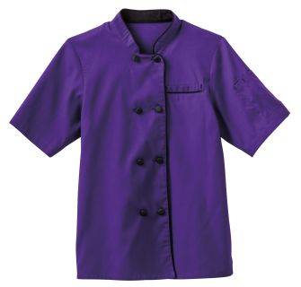 18028 Five Star Ladies Short Sleeve Executive Coat