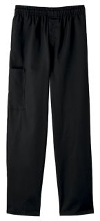Five Star Chef Apparel Men's Zipper Front Pant