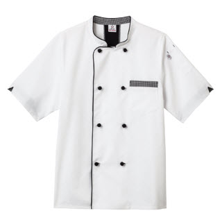 Five Star Unisex Short Sleeve Executive Chef Coat