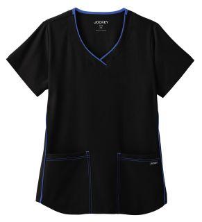 Jockey® Classic Ladies Stretch Sporty V-Neck Top