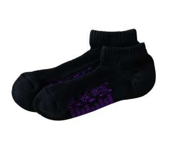 5855 AMPS Ladies Low Cut Performance Sock