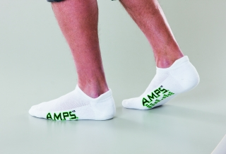 5861 AMPS Men's Tab Cut Performance Sock