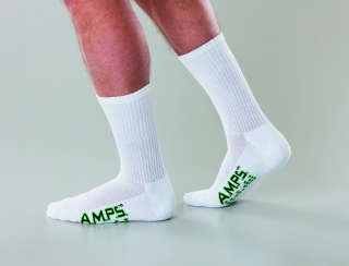 5874 AMPS Men's Crew Performance Sock
