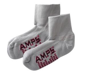5912 AMPS Ladies Quarter Crew Lite Performance Sock
