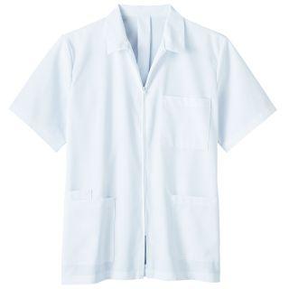 "Meta Men's 31"" Professional Zipper Front Shirt"