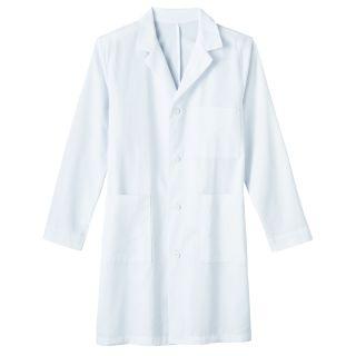 "650 Meta Men's 38"" Cotton Long Labcoat"