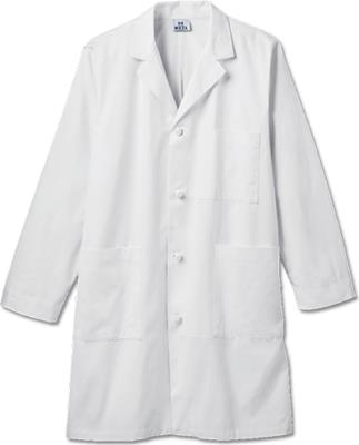 "762 Meta Mens 40"" Cotton Knot Button iPad Labcoat-Meta"