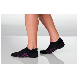 AMPS Women's Black Tab Cut Performance Sock-AMPS