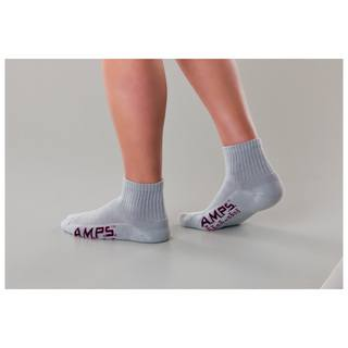 5903 AMPS Ladies Quarter Crew Performance Sock-AMPS