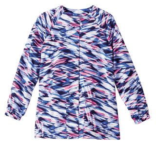 14373 Bio Prints Ladies Raglan Sleeve Warm Up Jacket