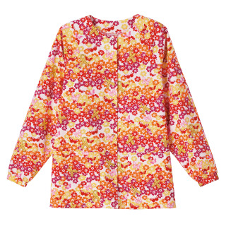 5232 Bio Prints Ladies Raglan Sleeve Warm Up Jacket-BIO