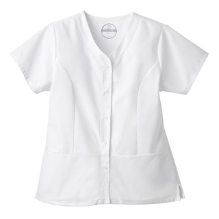 Fundamentals Ladies Snap Front Top