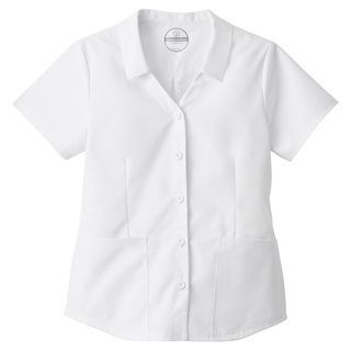 Fundamentals Ladies Collared Button Front Top