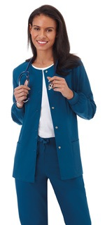 "Fundamentals Ladies 28"" Warm Up Jacket-Fundamentals"