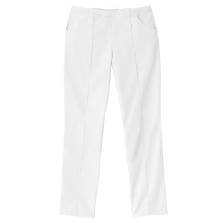 Fundamentals Ladies Pintuck Tapered Straight Leg Pant-