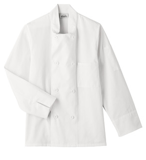 Five Star Chef Apparel Men's 8 Button Chef Jacket-Five Star