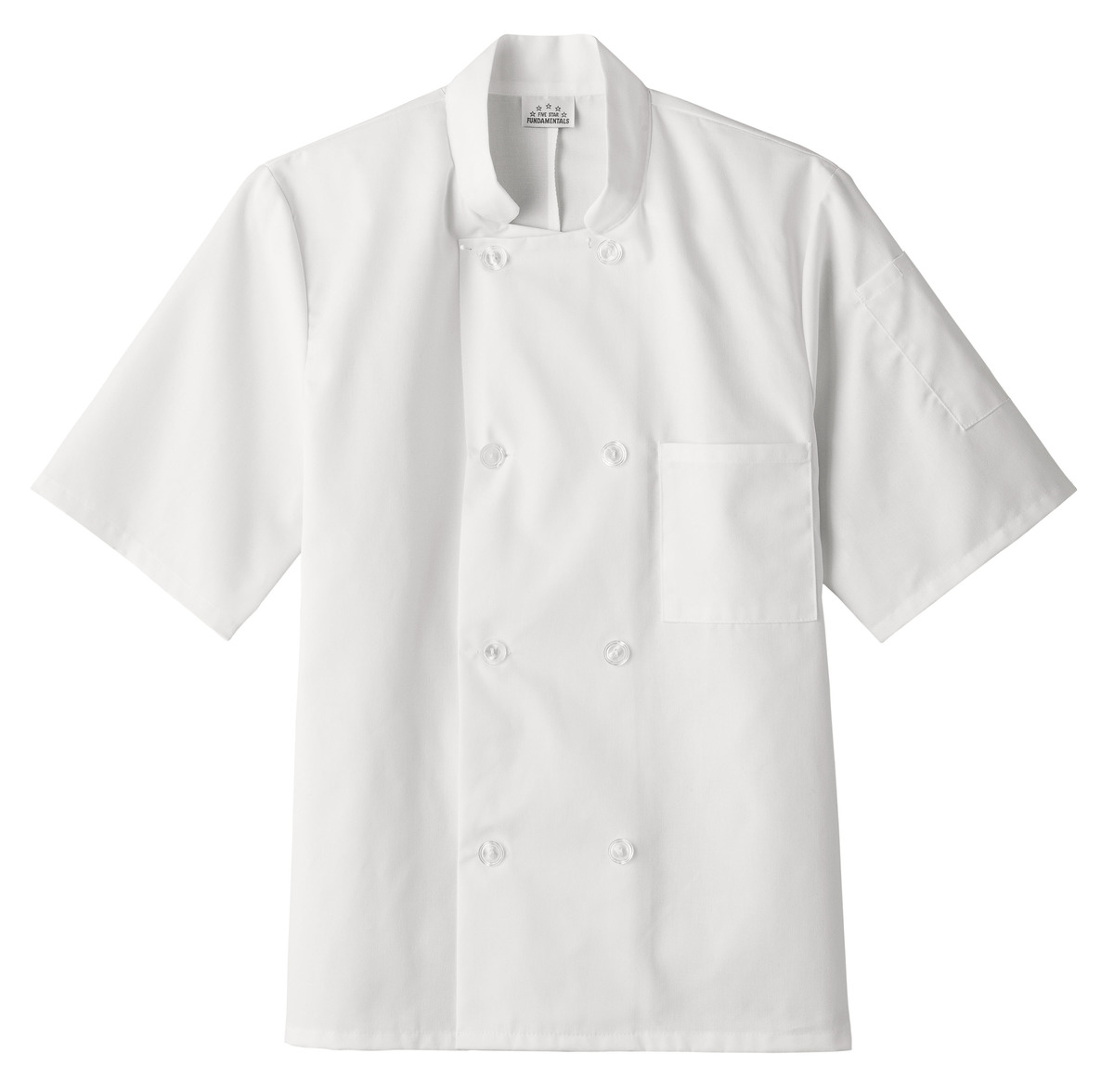 18001 Five Star 8 Button Chef Jacket