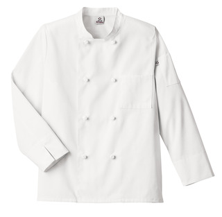 Five Star Unisex Knot Button Chef Coat-Five Star