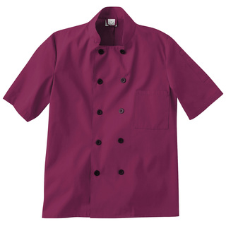 Five Star Short Sleeve Chef Coat-