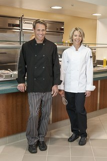 Five Star Ladies 8 Button Chef Jacket-Five Star