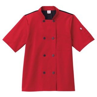Five Star Unisex Moisture Wicking Mesh Back Chef Coat-Five Star