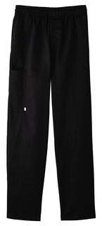Five Star Chef Apparel Men's Zipper Front Pant-Five Star