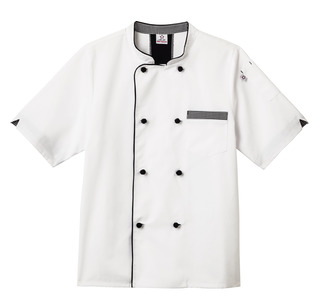 Five Star Unisex Short Sleeve Executive Chef Coat-Five Star Chef