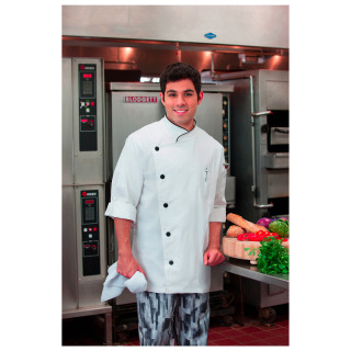 Five Star Unisex Long Sleeve Stretch Executive Chef Coat-Five Star