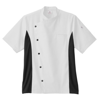 Five Star Unisex Moisture Wicking Side Panel Chef Coat-