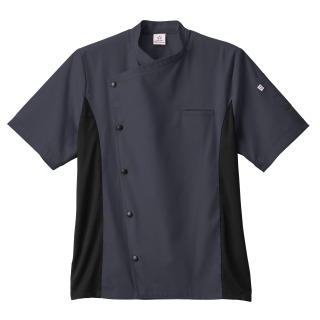 Five Star Unisex Moisture Wicking Side Panel Chef Coat-Five Star