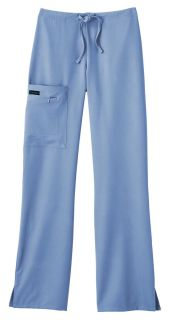 2249 Jockey Ladies Zipper Pocket Stretch Scrub Pant-Jockey Scrubs