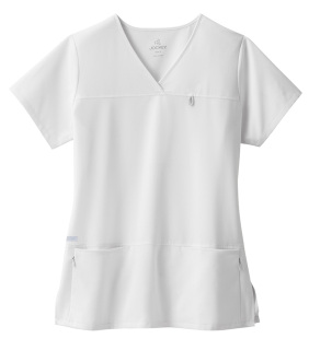 Jockey Classic Six Pocket Stretch Jewel Neck Top-Jockey® Scrubs