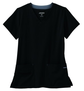 Jockey Ladies Modern V-Neck Top-Jockey Scrubs