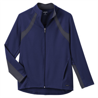 Jockey Modern Ladies Athletic Contrast Warm Up Jacket