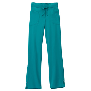 Jockey Ladies Button Trimmed Full Elastic & Drawstring Pant-Jockey Scrubs