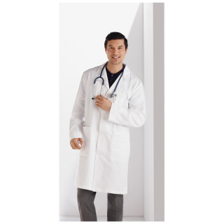 Meta Men's 100% Cotton Labcoat