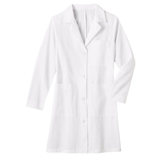 651_Meta Men's 38 Cotton Long Labcoat-Meta