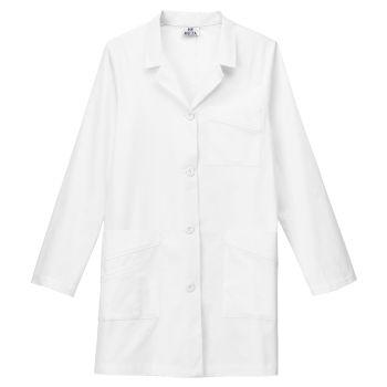 """Meta Ladies 32"""" Stretch Labcoat-"""