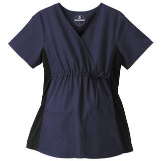 Fundamentals Maternity Mock Wrap Top-