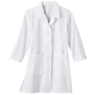 "Meta Fundamentals 33"" 3/4 Sleeve Labcoat-"