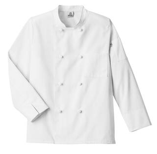 Five Star Knot Button Chef Coat-