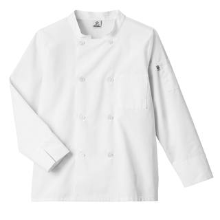 18017_Five Star Moisture Wicking Mesh Back Chef Coat-Five Star